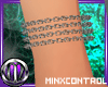 *MC Chain Wrist Bracelet