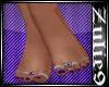 Bare Feet/Teal Polish