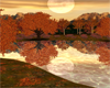 AutumnMoonlightOnTheLake