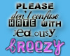 ~BZ~ Hate with jealousy