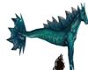 turquoius sea creature