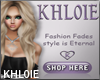 K KHL0IE store  banner