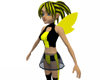 Black Yellow  Fairy