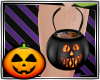 Hallowe'en candy bucket