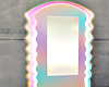 Rainbow Neon Wall Mirror