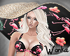 W° Flamingo Noir Hat