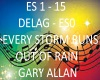 B.F EVERY STORM G. ALLAN