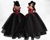IDI Blood Rose Gown