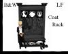LF B&W Coat Rack