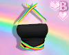*B Rainbow Strappy 1