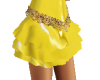 *B* pvc skirt yel