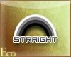 [e]Straight Sticker