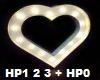 White heart light FX