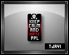 """HATE PPL"" Badge Sticker"
