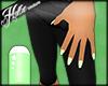 [Hot] Green Star Nails