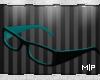 MP Teal Glasses