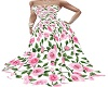 PINK ROSE GOWN RL