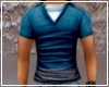 *Blue Muslced Shirt*