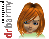 Toned Ginger Hair