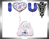CTG  I LOVE YOU BUNNY V1