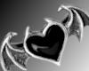 goth luv ring