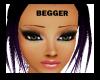 """""""Begger"""" across forehead"""