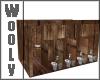 outdoor toilethouse wood