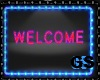 GS NEON SING WELCOME