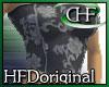 HFD Flower Tubetop Ash