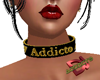 Addicto Female Choker