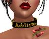 Addicto Female Choker