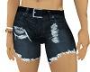 LC Cut-off Shorts Blue