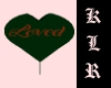 [klr] Black Love Balloon