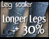 LC Long Leg Scaler +30%