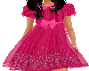 Flat Pink Flower Dress