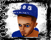 305 Blue N White Fitted
