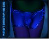 Meta Sarong Skirt Blue