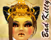 ~bk~golden kitty crown