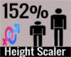 152% Height Scaler