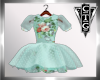 CTG SPR GRN FLORAL DRESS