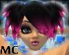 PJ~ Goth Pnk/Blk Jasmine