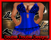 |DT|BLU DELITE DRESS THN