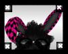 =XI=Pink CheckdBunnyEars