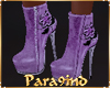 P9)Trendy Lilac Boots