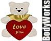 Plush Valentine Bear