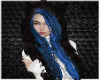 Federica Blue Black