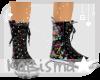 Hells Splatter Sneakers