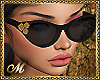 VIP GLASSES GOLD