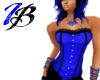 [IB] Rave Corset Blk/Blu