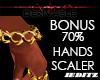 """Gold Bracelet / Scale"""""""